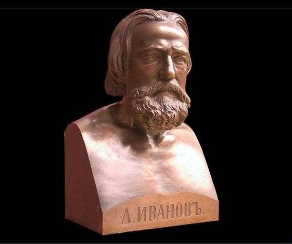 Bust A. A. Ivanova   Luigi Guglielmi