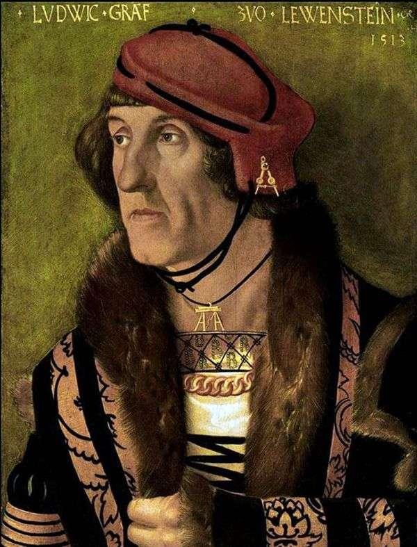 Ludwig Levenstein伯爵的画像   Hans Baldung