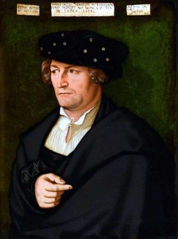 Jacob von Morsperg的肖像   Hans Baldung