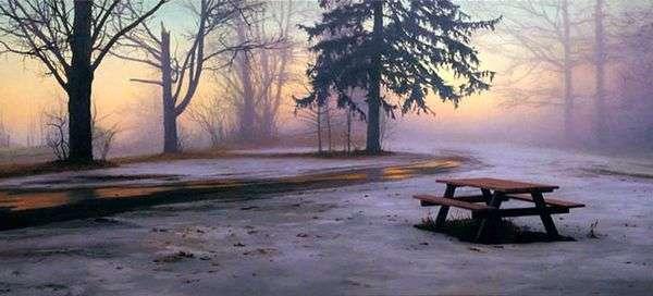 冬季野餐桌   斯科特普赖尔