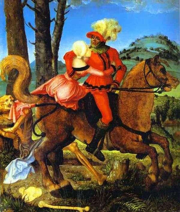 骑士,年轻女孩和死亡   汉斯Baldung