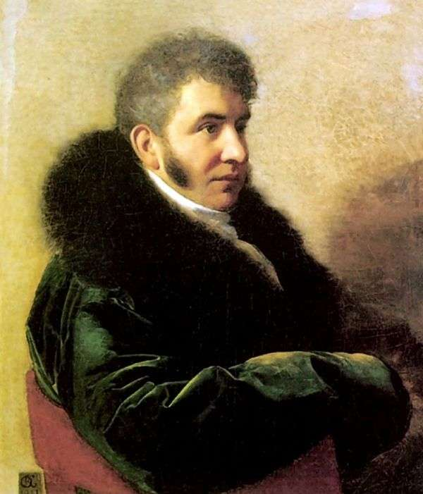 Prince I. A. Gagarin的肖像   Orest Kiprensky