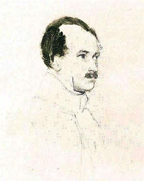 M. F. Orlov的肖像   Orest Kiprensky
