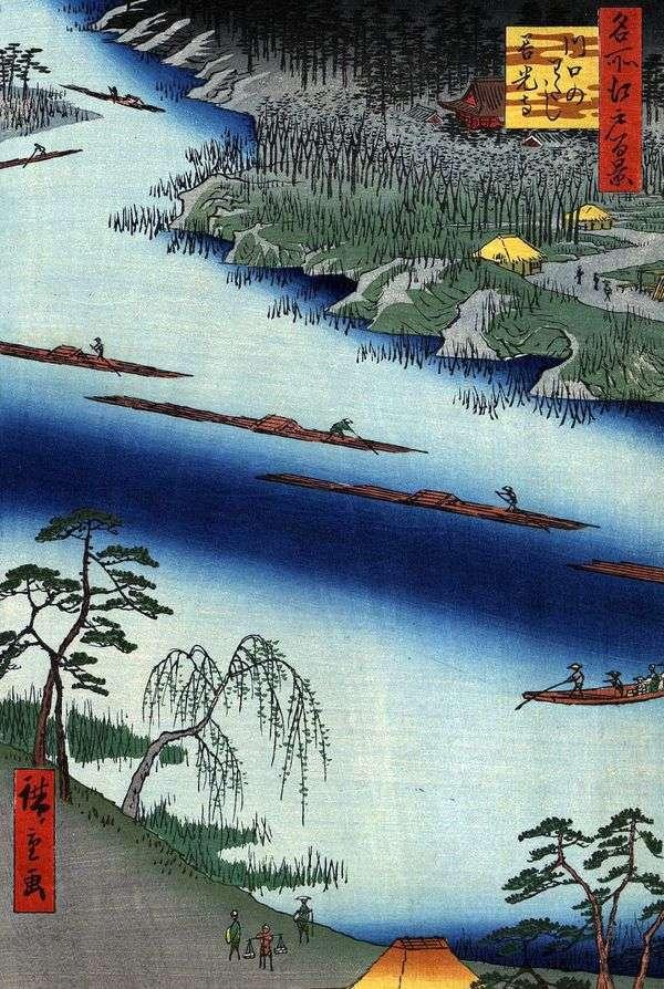 Kawaguchi no watashi渡轮的Zenkoji修道院