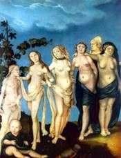 七个女人   Hans Baldung