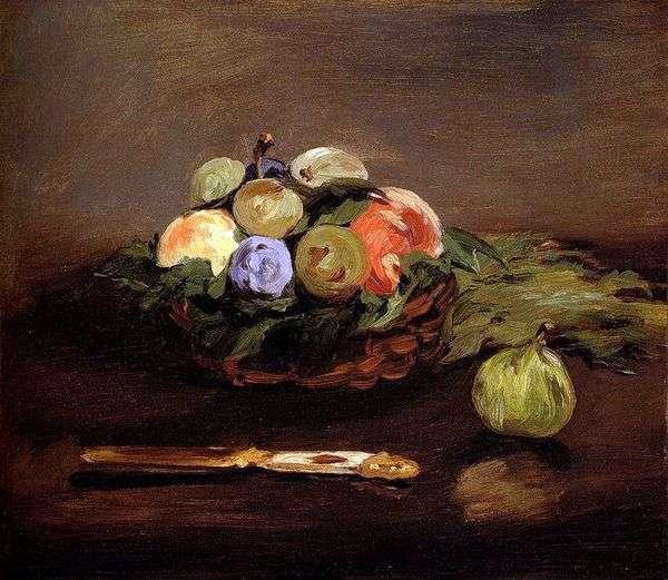 水果篮   Edouard Manet