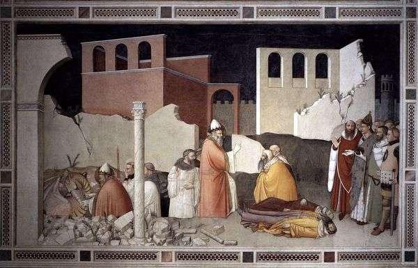 教皇西尔维斯特圣龙的奇迹   Maso di Banco
