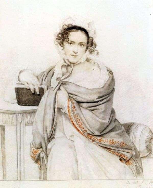 S. S. Scherbatova的肖像   Orest Kiprensky