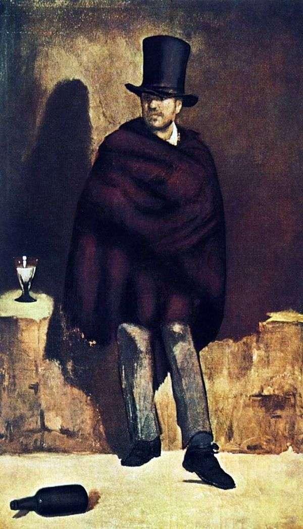Absinthe Lover   Edouard Manet