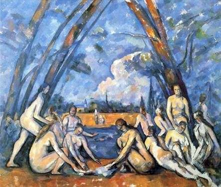Big Bathers   Paul Cezanne