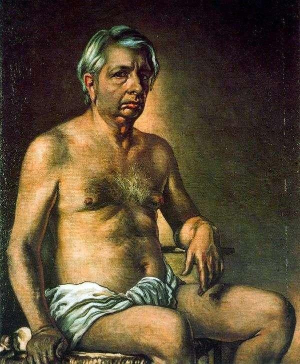 自画像   Giorgio de Chirico