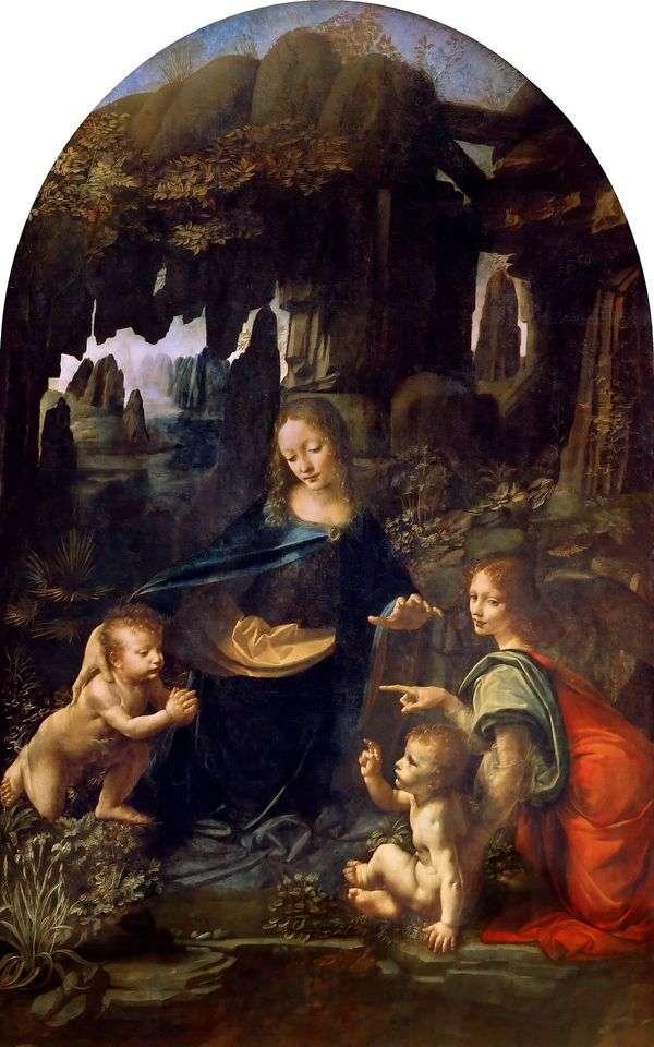 圣母玛利亚在石窟   莱昂纳多达芬奇