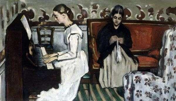 钢琴女孩(序曲Tannhäuser)   保罗塞尚