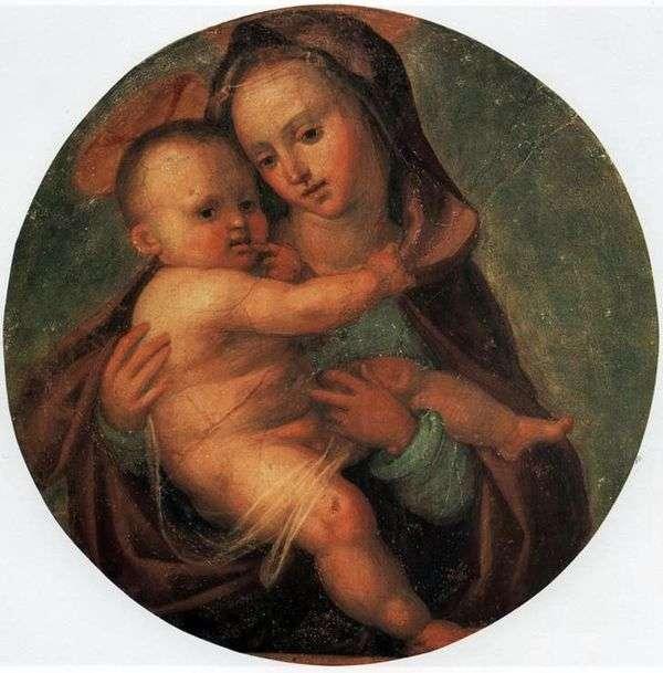 麦当娜和儿童   Fra Bartolomeo
