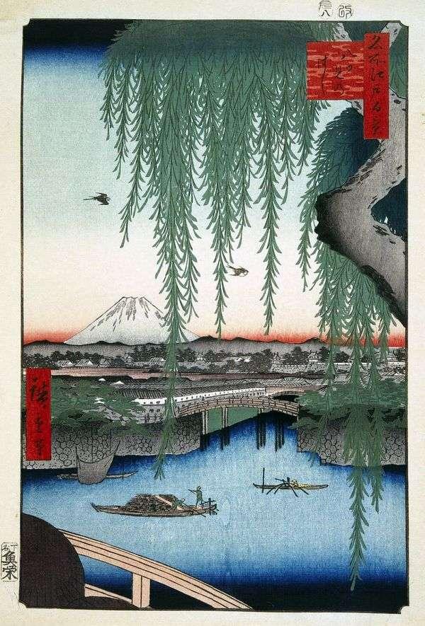 桥Yiumi   Utagawa Hiroshige