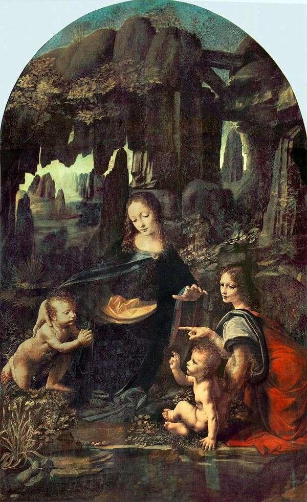 麦当娜在岩石中(麦当娜在石窟)   莱昂纳多达芬奇