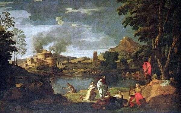 Orpheus和Eurydice   Nicolas Poussin