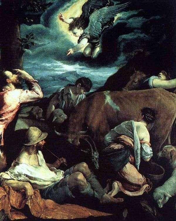 对牧羊人的报喜   雅各布巴萨诺