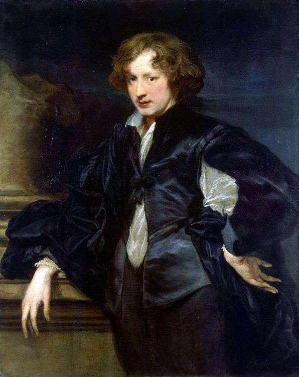 自画像   Anthony Van Dyck