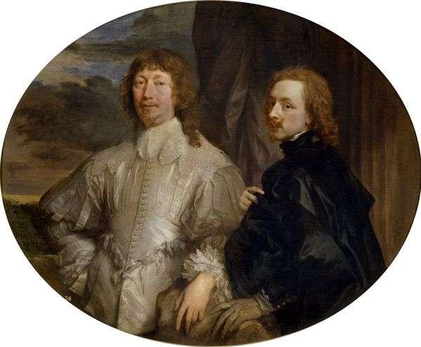 与Endimion Porter先生的自画像   Anthony Van Dyck