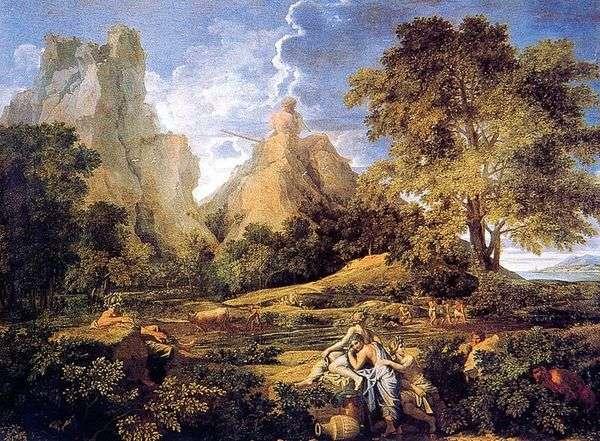 与Polyphemus的风景   Nicolas Poussin&nbsp