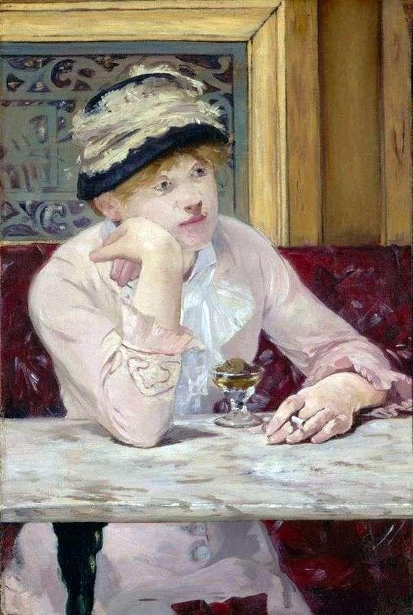 Slivovitz(Plum Brandy)   Edouard Manet
