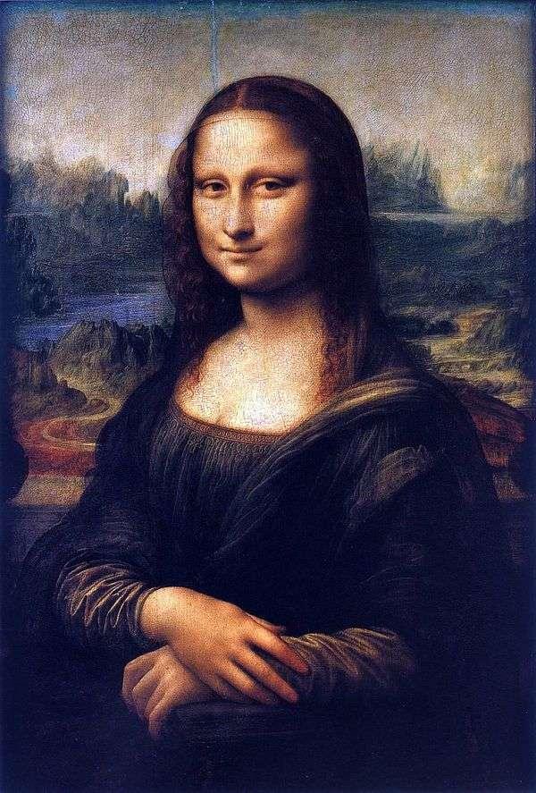 蒙娜丽莎或Gioconda   莱昂纳多达芬奇