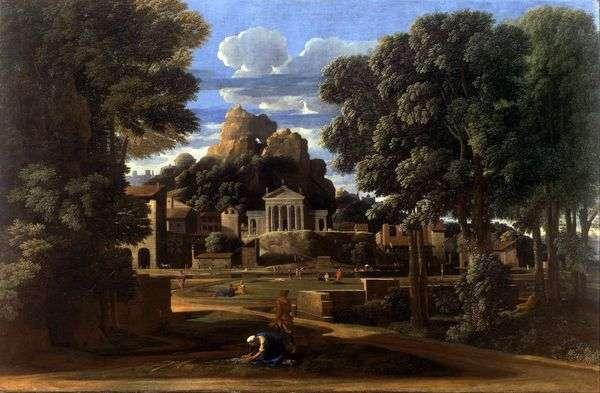 Phocion的灰烬   Nicolas Poussin