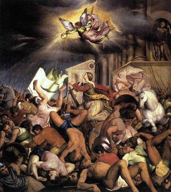 圣凯瑟琳的殉难   雅各布巴萨诺