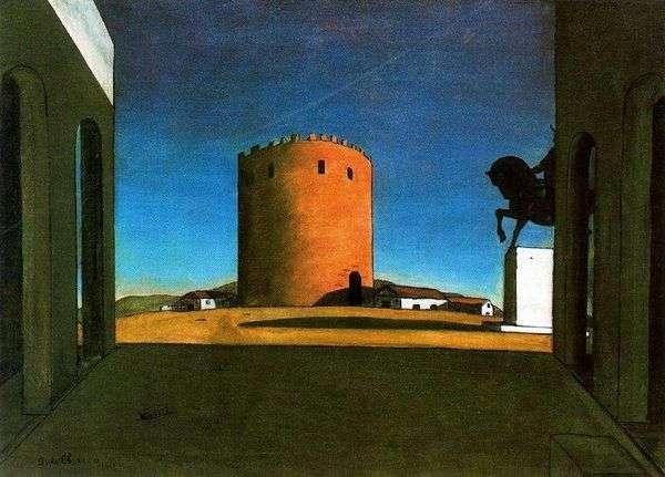 红塔   Giorgio de Chirico