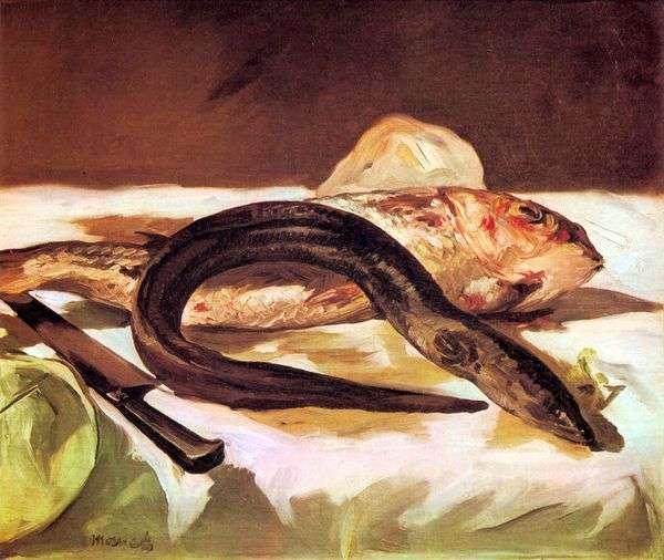 鳗鱼和Mul鱼   爱德华马奈