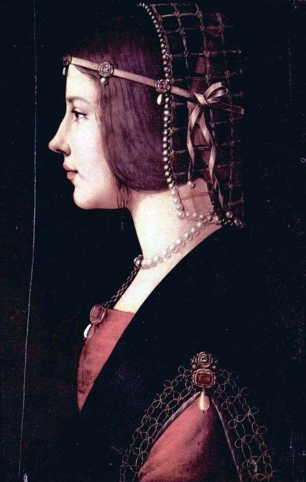 Beatrice dEste   莱昂纳多达芬奇的肖像