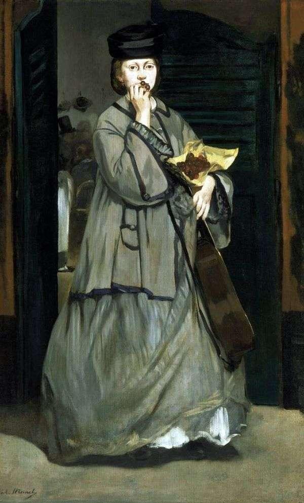 街头歌手   Edouard Manet