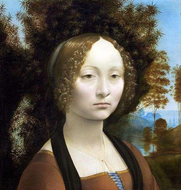 Zinerva de Bensi   莱昂纳多达芬奇的肖像