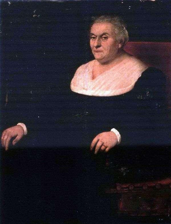 一个女人的肖像   雅格布巴萨诺