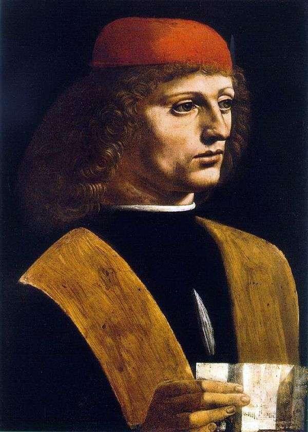 音乐家的肖像   莱昂纳多达芬奇