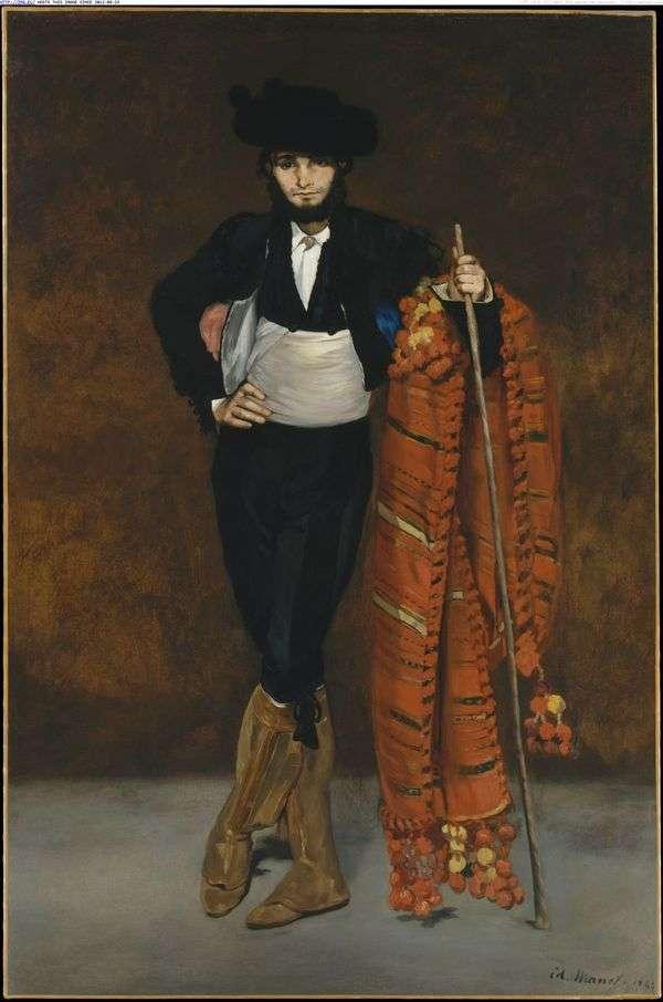 穿着男子气概的年轻人   Edouard Manet