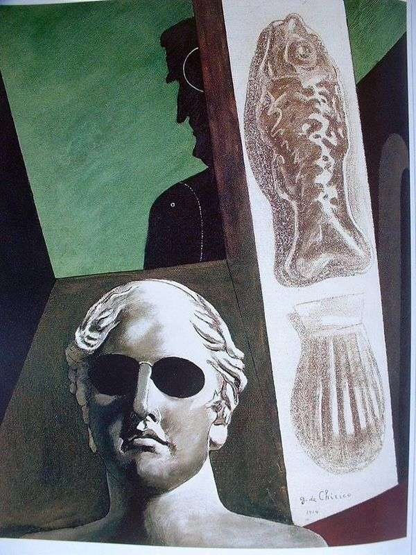 Guillaume Apollinaire画像   Giorgio de Chirico