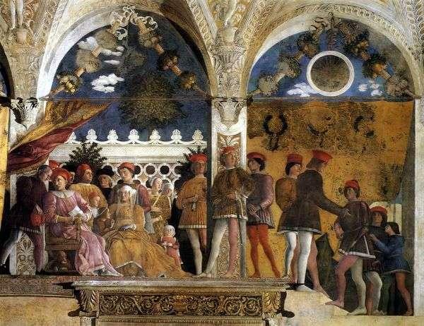 相机degli Spozi   Andrea Mantegna