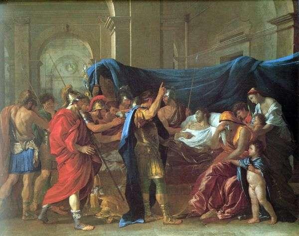 Germanicus之死   Nicolas Poussin