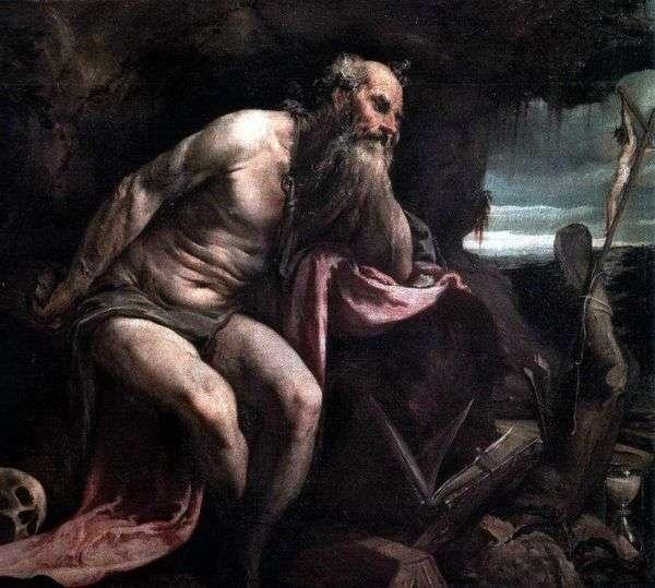 圣杰罗姆在荒野   雅各布巴萨诺