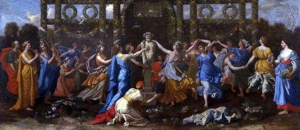 为纪念Priapus而舞蹈   Nicolas Poussin