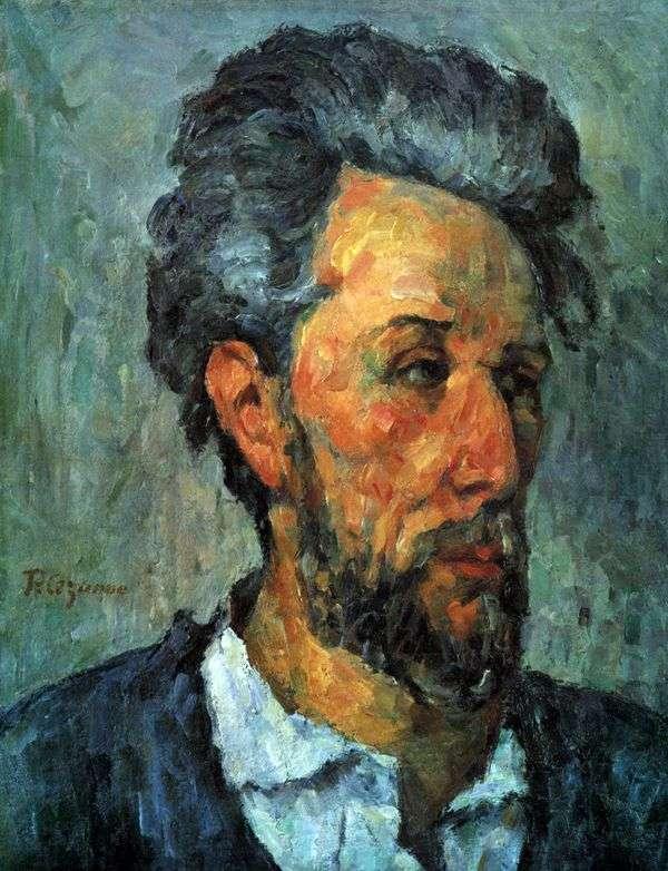 Victor Shoke的肖像   Paul Cezanne