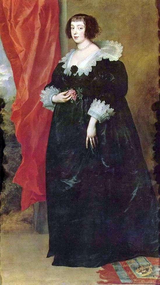 洛林玛格丽特的肖像   奥尔良公爵夫人   安东尼范戴克