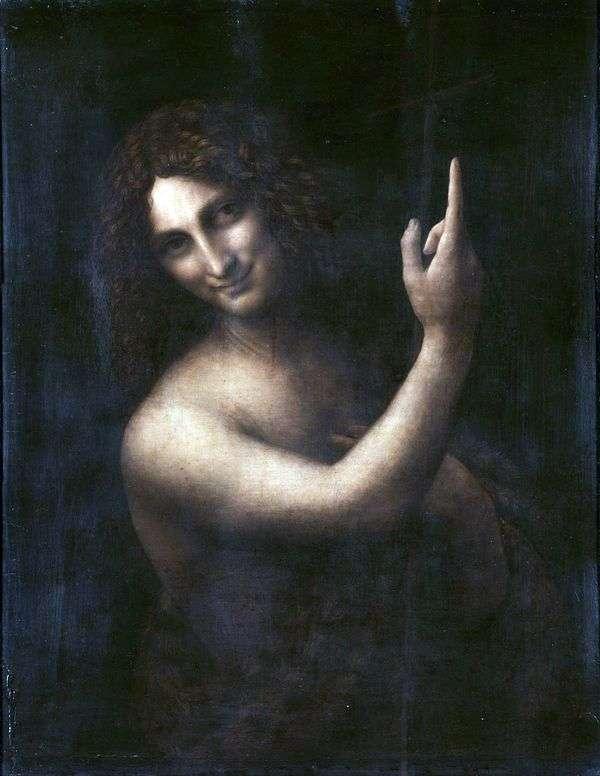 施洗者圣约翰   达芬奇