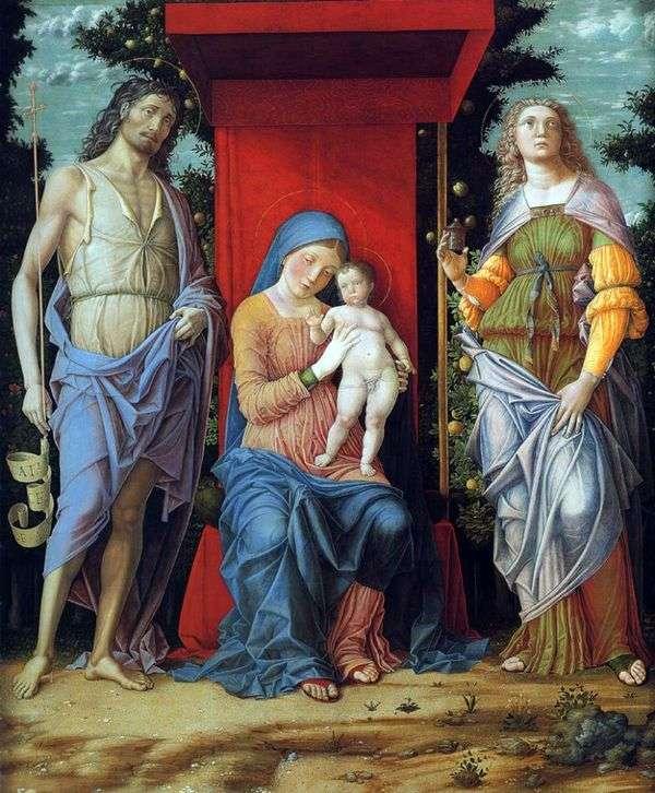 麦当娜和儿童   安德烈亚曼特尼亚