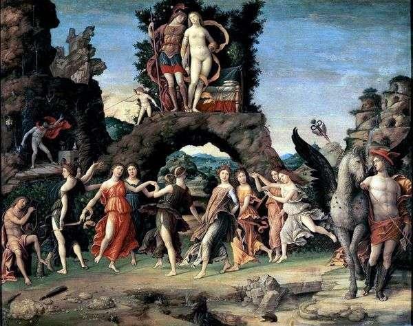 火星和金星,或Parnassus   Andrea Mantegna