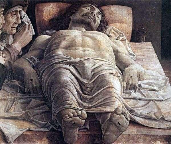 哀悼死去的基督   安德烈亚曼特尼亚
