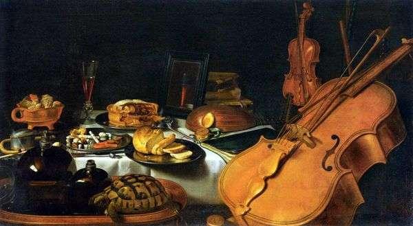 静物与乐器   彼得克拉斯