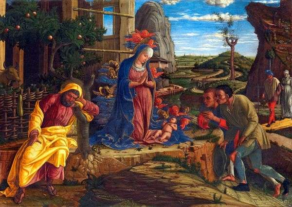对牧羊人的崇拜   安德烈亚曼特尼亚